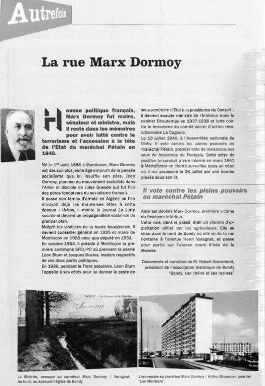 Avenue Max Dormoy