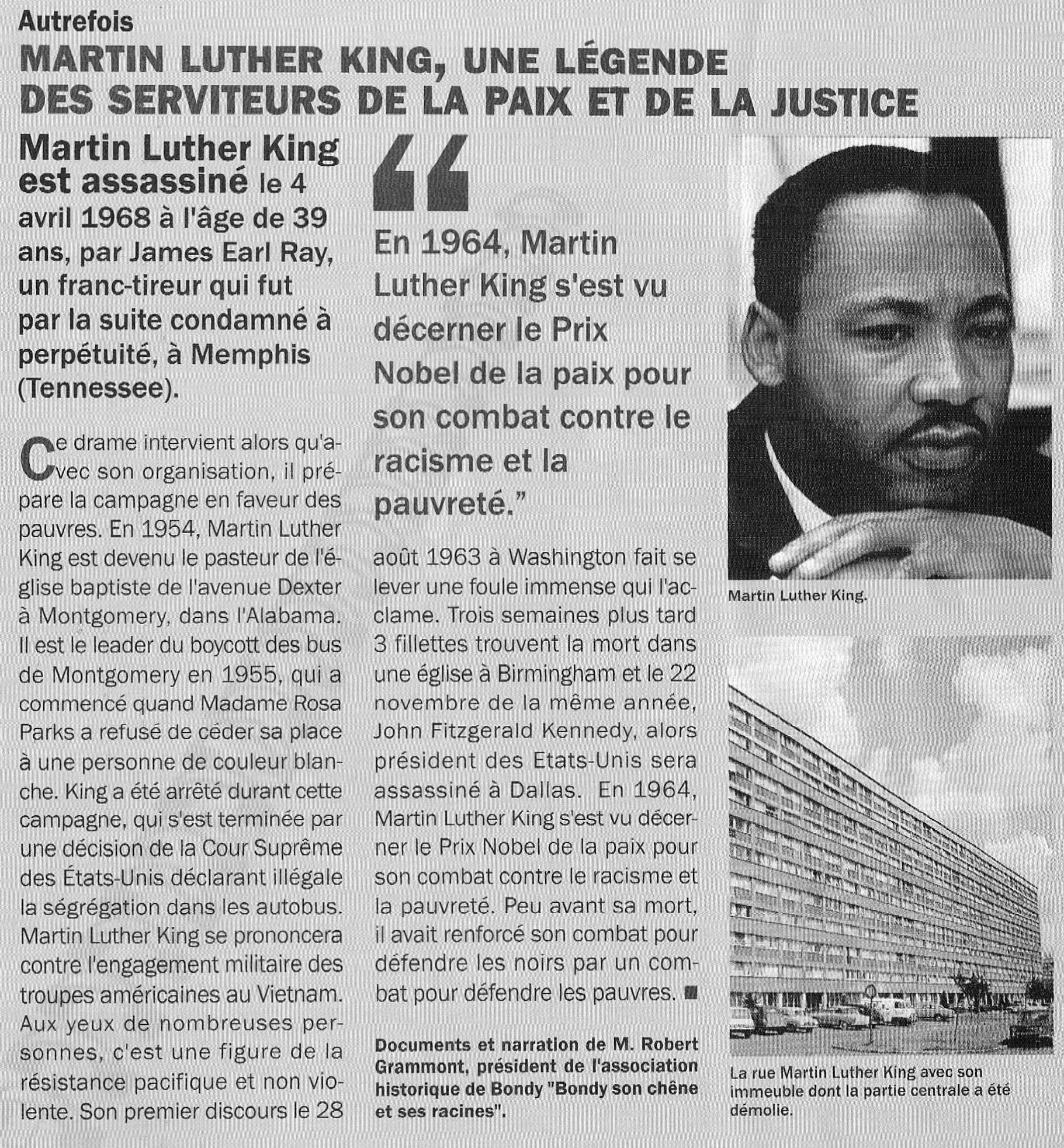 Rue Martin Luther King