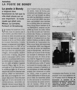 La Poste à Bondy