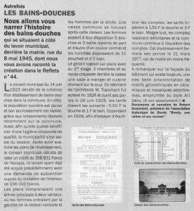 Les Bains-douches rue du 8 mai 1945