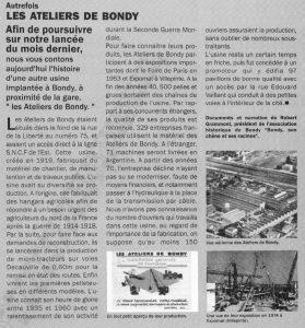 Les ateliers de Bondy