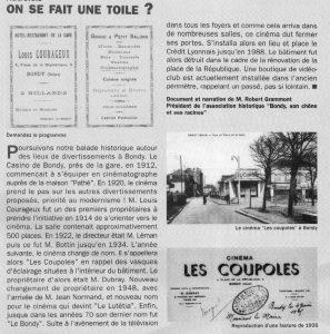 """iLe cinéma """"Les Coupoles"""""""