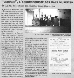 Géorgie l'accordéoniste au Belvédère