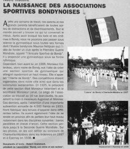 "La Gymnastique ""l'Alerte de Bondy"""