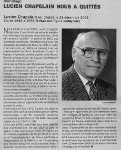 Lucien Chapelain