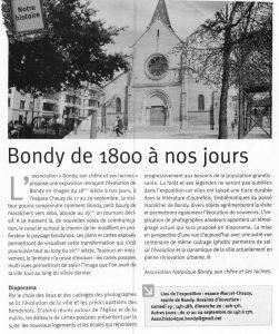 Bondy de 1800 à nos jours