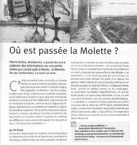Où esdt passé la Molette