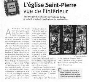 Intérieur Eglise St Pierre (2)