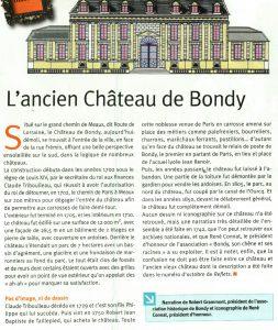 iL'Ancien Chateau de Bondy