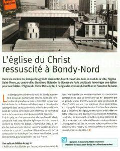 L'église du Christ Ressuscité à Bondy